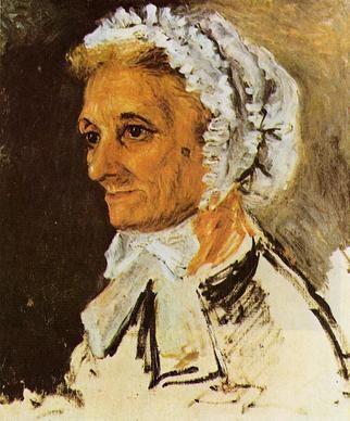Pierre-Auguste Renoir, La madre dell'artista, 1860
