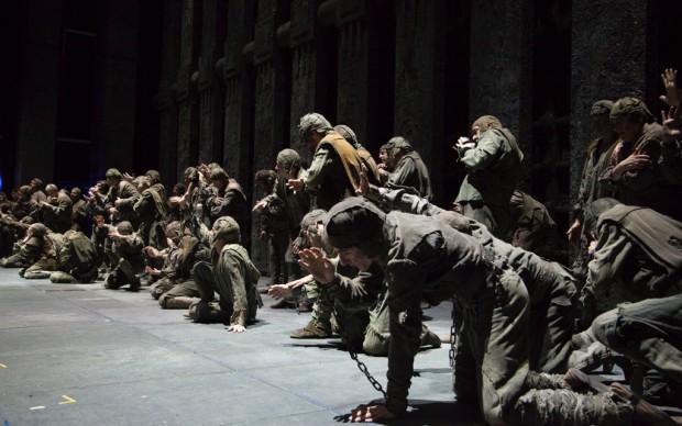 Antepiano di Fidelio all'Opera di Firenze - © Michele Borzoni - Terraproject - Contrasto