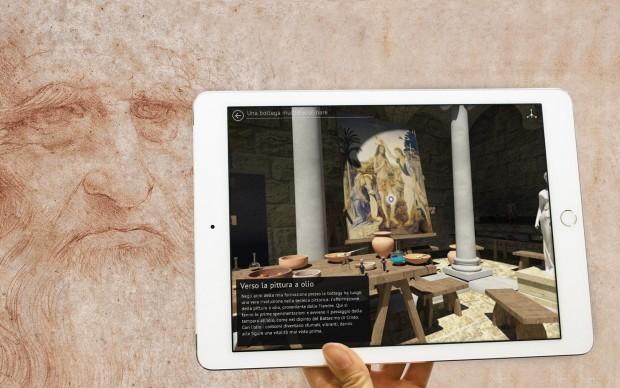Being Leonardo, app Leonardo da Vinci