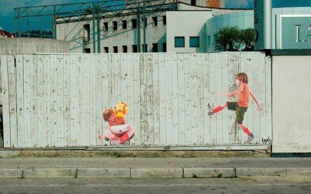 Bifido, Do It, street art