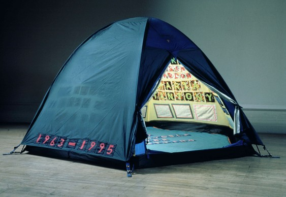 Tracey Emin, Everyone I Have Ever Slept With 1963-1995, 1995, Courtesy: Galleria Lorcan O'Neill e White Cube