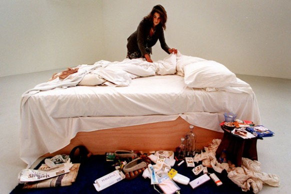 Tracey Emin, My Bed, Foto: Mark Chilvers/The Independent/REX © The Guardian, Courtesy: Galleria Lorcan O'Neill