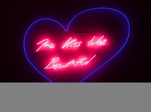 Tracey Emin, The Kiss Was Beautiful, 2012, Courtesy: Galleria Lorcan O'Neill