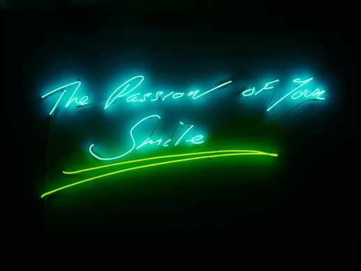 Tracey Emin, The Passion of Your Smile, 2013, Courtesy: Galleria Lorcan O'Neill