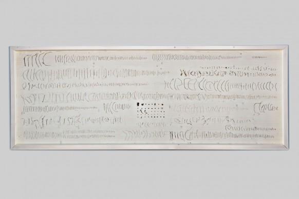Nico Vascellari, Nido, 2009. Tecnica mista: nidi, legno verniciato, colla. Courtesy: Collezione ACACIA, Credito fotografico: Ela Bialkowska