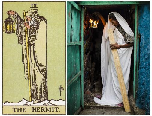 Alicia Smeets, The Ghetto Tarot -  The Ermit