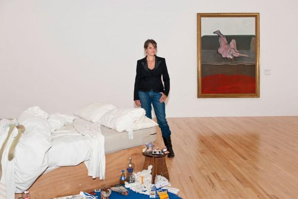 Tracey Emin, My Bed, marzo 2015, Foto: Ana Escobar © Tate Britain,  Courtesy: Galleria Lorcan O'Neill