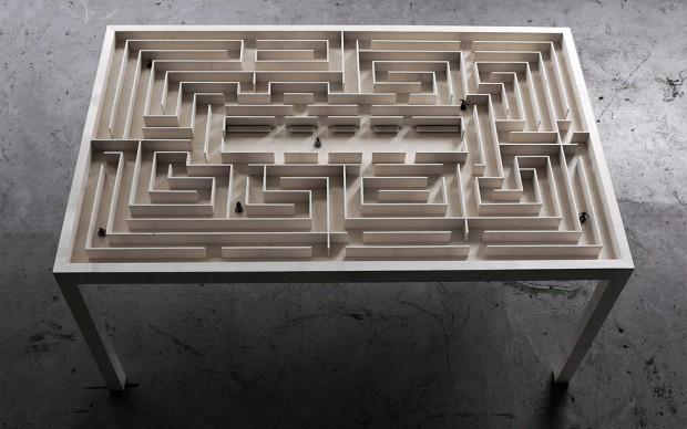 Benjamin Nordsmark labyrinth table