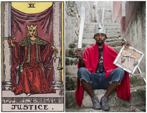 Alicia Smeets, The Ghetto Tarot - Justice