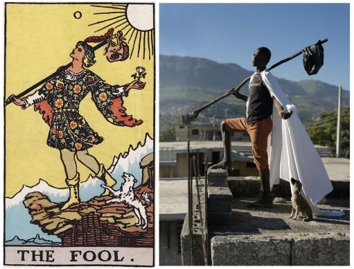 Alicia Smeets, The Ghetto Tarot -  The Fool