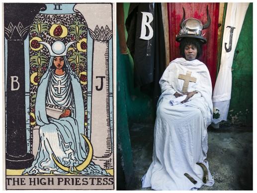 Alicia Smeets, The Ghetto Tarot -  The High Priestess