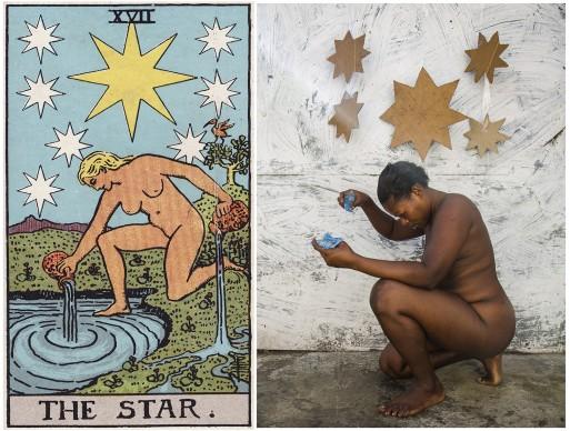 Alicia Smeets, The Ghetto Tarot -  The Star