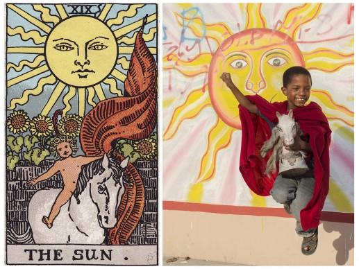 Alicia Smeets, The Ghetto Tarot -  The Sun