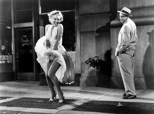 Marilyn Monroe e Tom Ewell