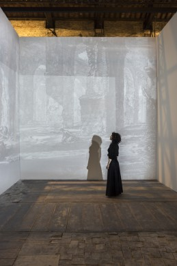 L'opera di Andrea Aquilanti nella mostra Codice Italia - Padiglione Italia della Biennale d'Arte di Venezia 2015