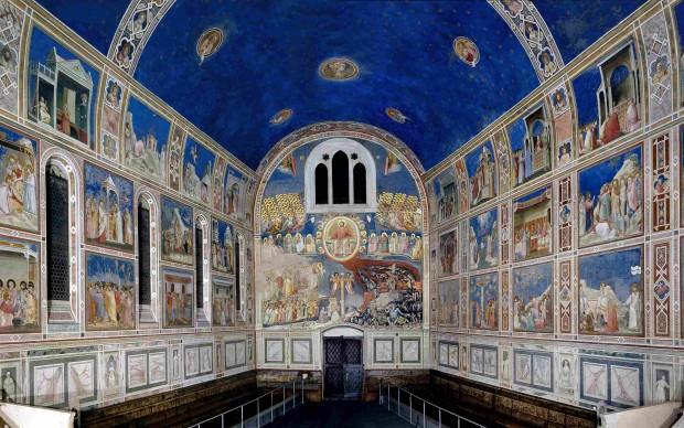 Cappella-degli-Scrovegni-affreschi-Giotto