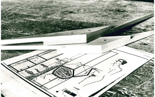 Ettore Sottsass, appunti e materiali per Esercizio formale Nr.3, 1985
