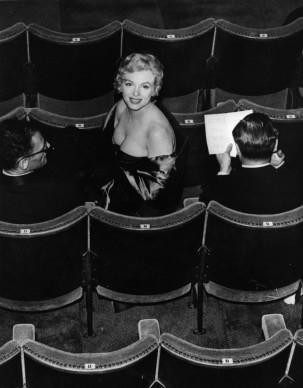 Marilyn Monroe al Comedy Theatre di Londra