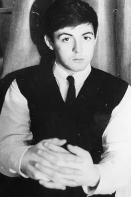 Un giovanissimo Paul McCartney, nel 1962. Foto: Keystone/Getty Images