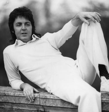 Paul McCartney nel 1973, a tre anni di distanza dal suo esordio come solista. Foto: Evening Standard/Getty Images