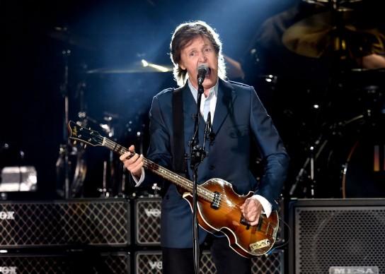 Paul McCartney live al PETCO Park in California, nel settembre del 2014. Foto: Kevin Winter/Getty Images