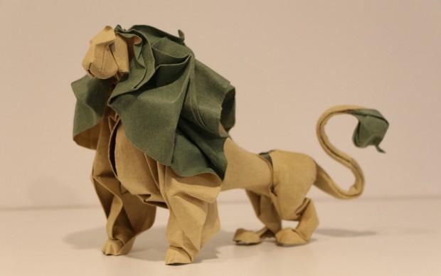 Hoang Tien Quyet - origami leone - Copia