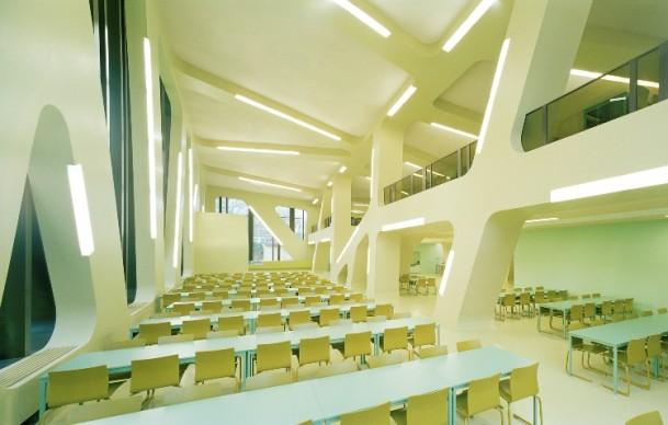 J. MAYER H. Architects, Mensa Molkte, concept model Karlsruhe, Germany 2004, Foto: David Franck