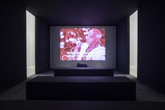 L'opera di Jean-Marie Straub nella mostra Codice Italia - Padiglione Italia della Biennale d'Arte di Venezia 2015