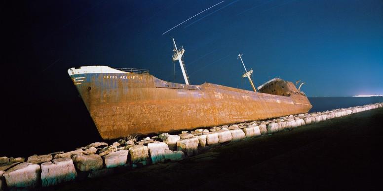 Pellestrina, Venezia 1988. Da 'Notte 1991' © Olivo Barbieri