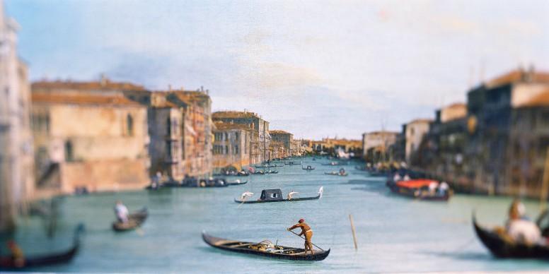 Uffizi, 2002. Da 'Paintings' © Olivo Barbieri