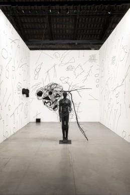 Le opere di Mimmo Paladino nella mostra Codice Italia - Padiglione Italia della Biennale d'Arte di Venezia 2015