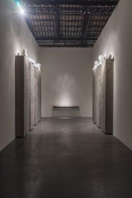 Le opere di Nino Longobardi nella mostra Codice Italia - Padiglione Italia della Biennale d'Arte di Venezia 2015