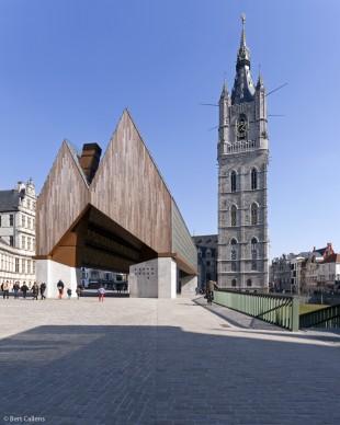Robbrecht en Daem architecten & MJosé Van Hee architecten, Market Hall and Central Squares, Ghent Ghent, Belgium 2012. Foto: Marc de Blieck e Bert Callens