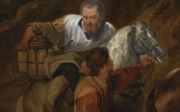 Pieter Paul Rubens, Carità del Duca Rodolfo, particolare