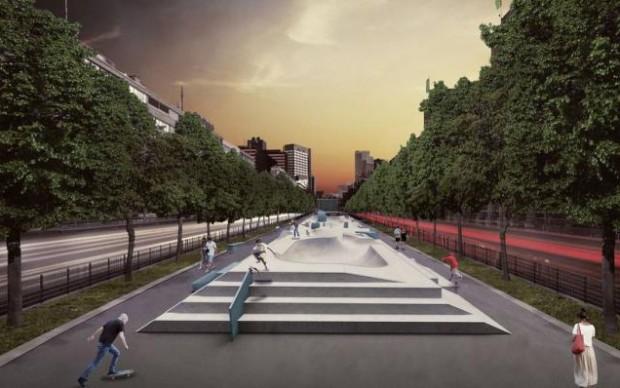 Skatepark Rotterdam Janne Saario