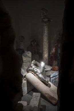 L'opera di Vanessa Beecroft nella mostra Codice Italia - Padiglione Italia della Biennale d'Arte di Venezia 2015