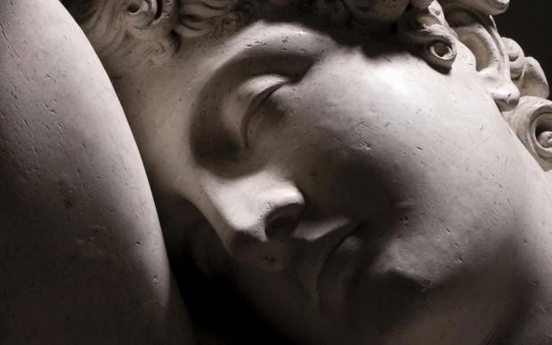 Antonio Canova: Endimione dormiente, 1819, gesso, 93 x 123 x 95