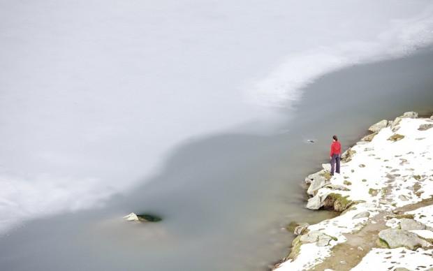 Mario Daniele, quel sentiero per il lago 1, 2012