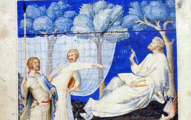 Simone MARTINI, Manoscritto del Virgilio appartenuto a Francesco Petrarca
