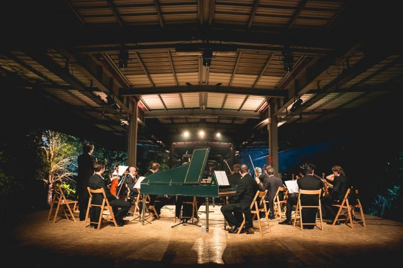I Cameristi della Scala in concerto presso l'ex Scalo Farini di Milano © Antinori
