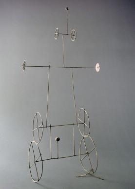 Fausto Melotti, Omaggio a Scheiwiller, 1962, 103x50x20 cm, Photo: Fondazione Fausto Melotti © Archivio Fausto Melotti