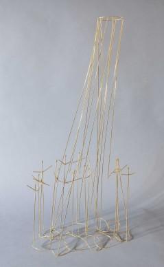 Fausto Melotti, La Pioggia, 1966, 61 x 30 x 20 cm, Photo: Fondazione Fausto Melotti © Archivio Fausto Melotti