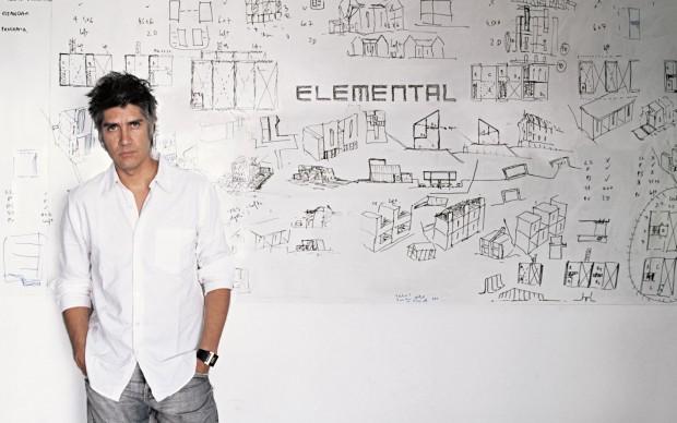 architetto cileno Alejandro Aravena
