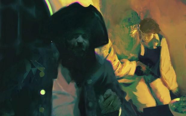 Sterling Hundley, L'isola del tesoro, illustrazione del libro