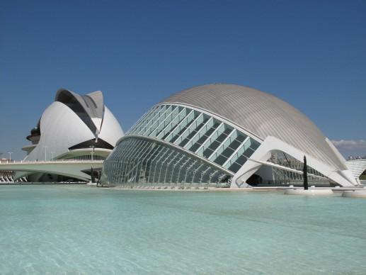 Santiago Calatrava, Città delle arti e delle scienze, Valencia. Credits: Cristina Arias/Cover/Getty Images