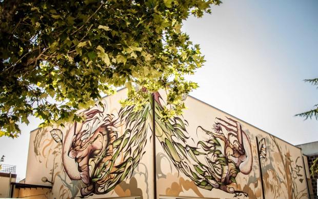 FIO SILVA Street art a Selci Lazio