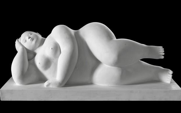 Fernando Botero scultura mostra Spoleto