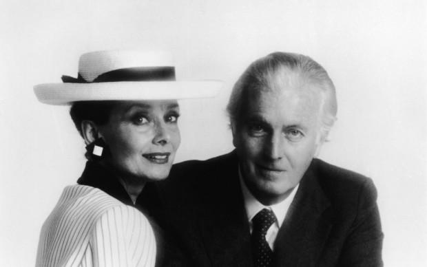 Ritratto di Audrey Hepburn e Hubert De Givenchy