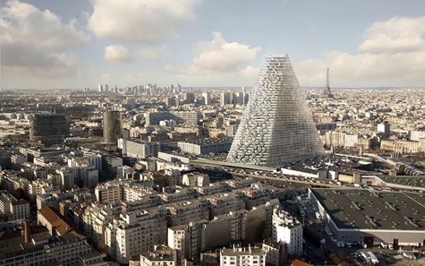 Herzog & De Meuron Tour Triangle Parigi