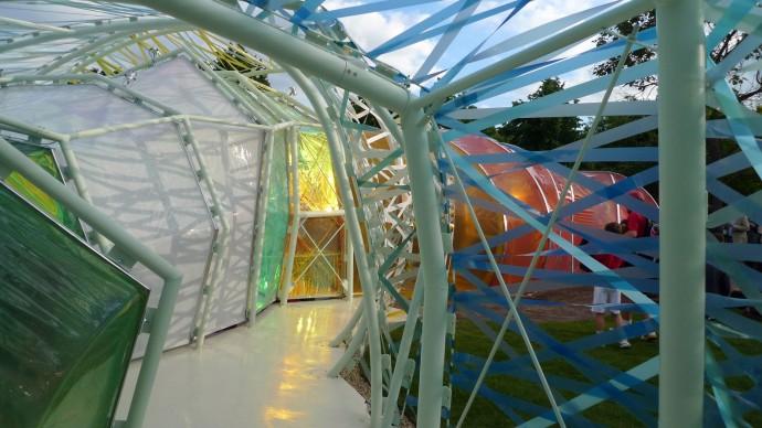 Serpentine Pavilion 2015, progetto di selgascano. Foto © Davide Sacconi / Artribune